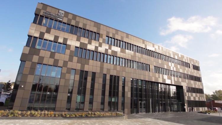 staffordshire university science centre