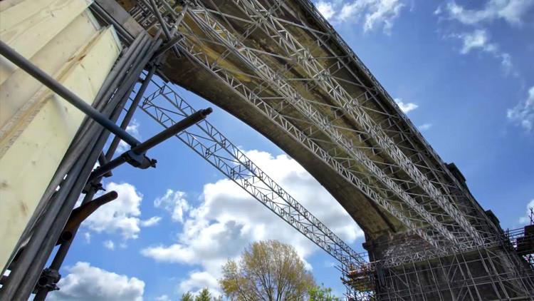 attridge scaffolding timelapse