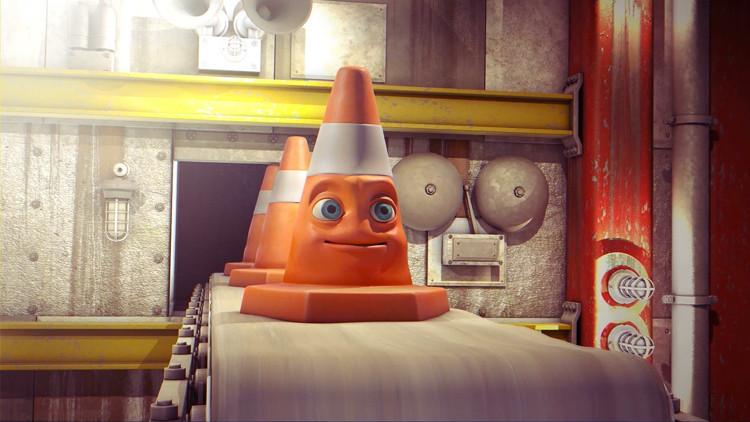 trevor the traffic cone