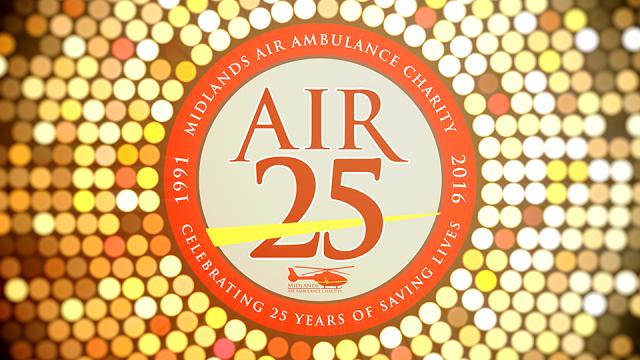 Midlands Air Ambulance Air25 Awards