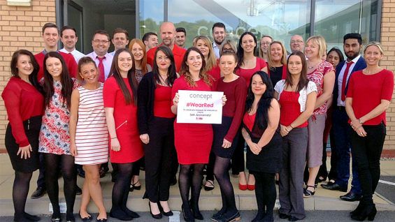 Midlands Air Ambulance Business Partnership Award 2016