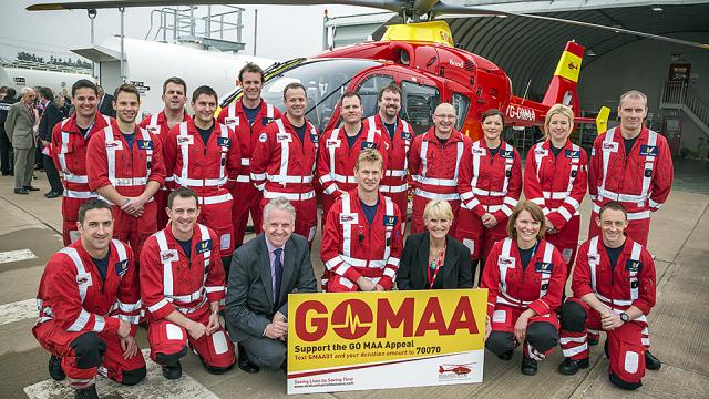 Midlands Air Ambulance Clinician Award 2016