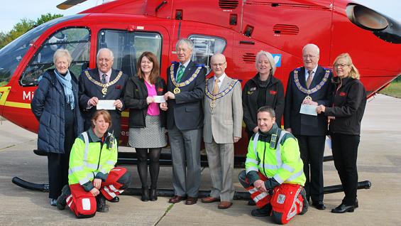 Midlands Air Ambulance Community Partner Award 2016