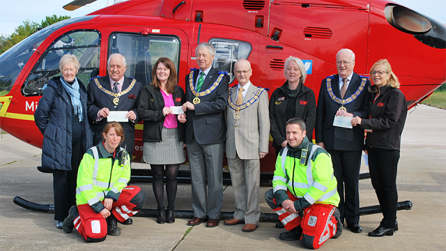Midlands Air Ambulance Community Partner Award 2016