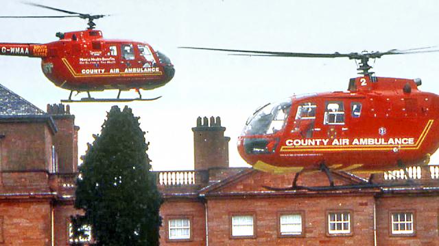 Midlands Air Ambulance Service Award 2016